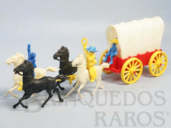 Brinquedo antigo Carroça Pioneiros Do Oeste Ano 1963