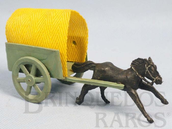 Brinquedo antigo Carroça com 14,00 cm de comprimento Década de 1960