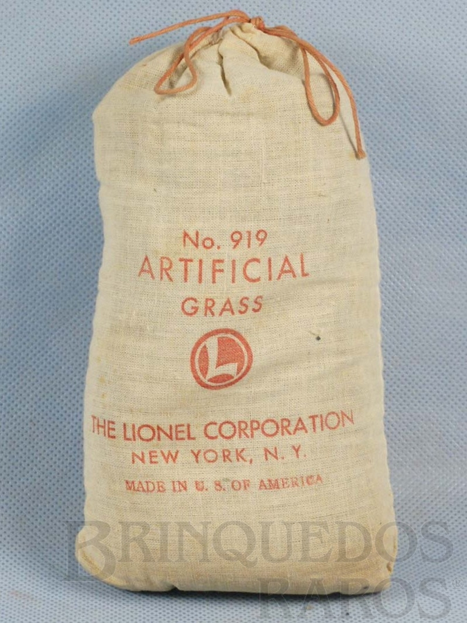 Brinquedo antigo Grama Artificial 919 Artificial Grass Ano 1946 a 1964