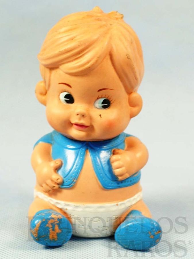 Brinquedo antigo Boneco Tico com 12,00 cm de altura Ano 1971