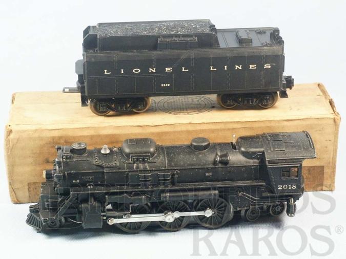 Brinquedo antigo Locomotiva a Vapor 2018 com apito e fumaça Ano 1955 a 1956