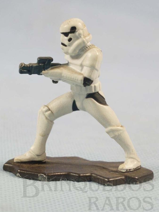 Brinquedo antigo Stormtrooper com 5,5 cm de altura Star Wars Lucas Film Série Action Masters Ano 1994