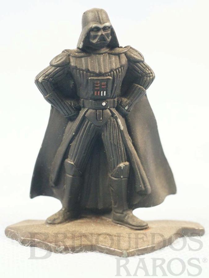 Brinquedo antigo Darth Vader com com 7,00 cm de altura Star Wars Lucas Film Série Action Masters Ano 1994