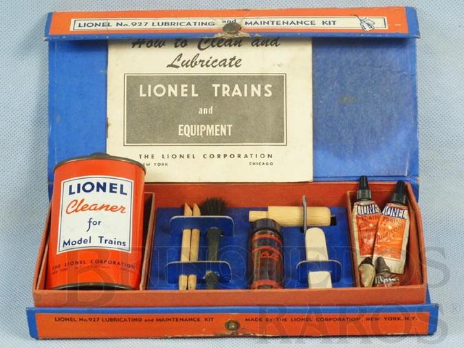 Brinquedo antigo Conjunto de Manutenção 927 Lubricating and Maintenance Kit Ano 1950 a 1953