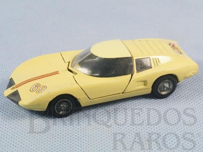 Brinquedo antigo Monza Spider versão com capota