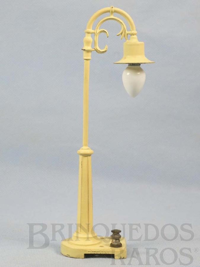 Brinquedo antigo Poste de iluminação 75 Tear Drop Lamps Ano 1961 a 1963