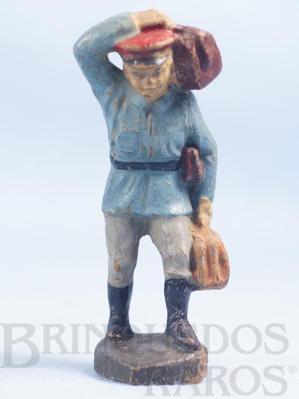 Brinquedo antigo Carregador de Estação Bitola 1 Década de 1930
