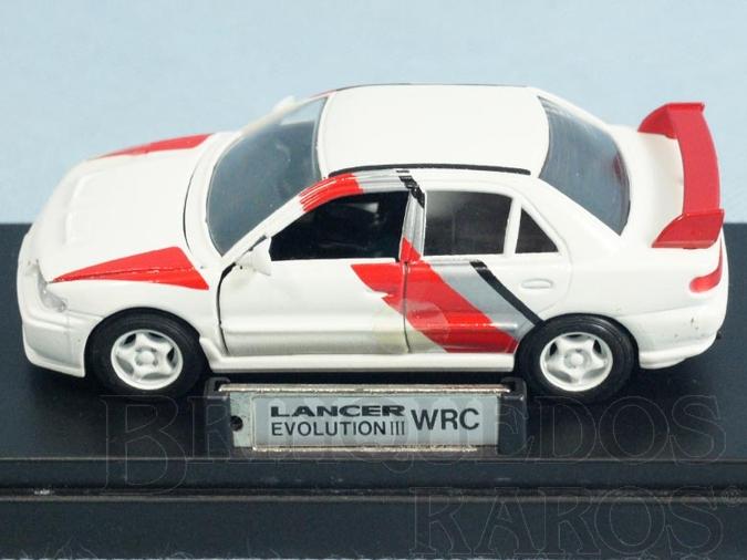 Brinquedo antigo Mitsubish Lancer Evolution III WRC Ano 1995