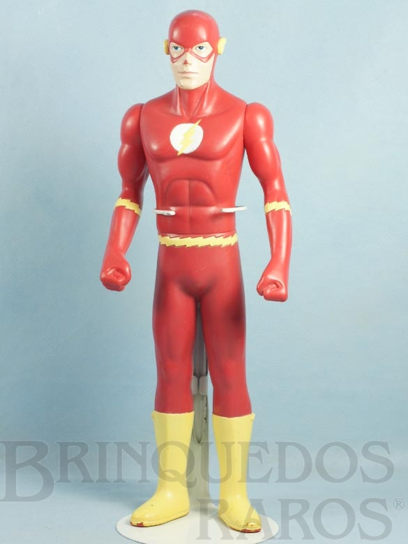 Brinquedo antigo Boneco do Flashman The Flash com 37,00 cm de altura Datado 1993