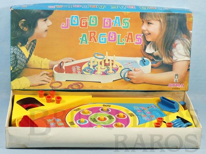 Brinquedo antigo Jogo das Argolas Década de 1970
