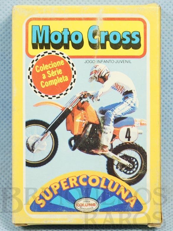 Brinquedo antigo Jogo Super Coluna Moto Cross Década de 1980