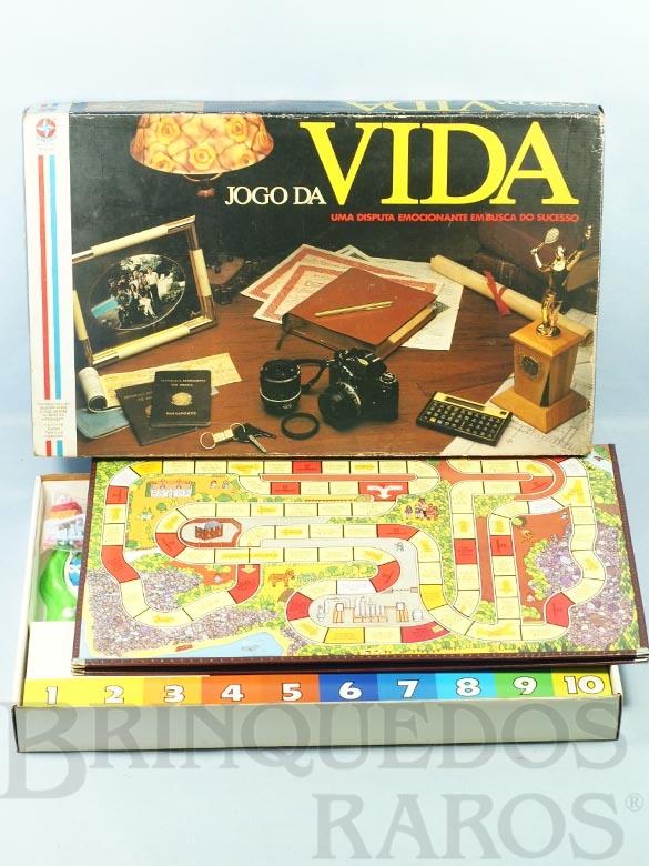 Brinquedo antigo Jogo da Vida Ano 1986