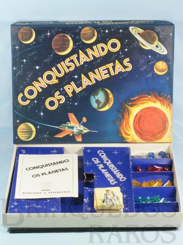 Brinquedo antigo Conquistando os Planetas Década de 1970
