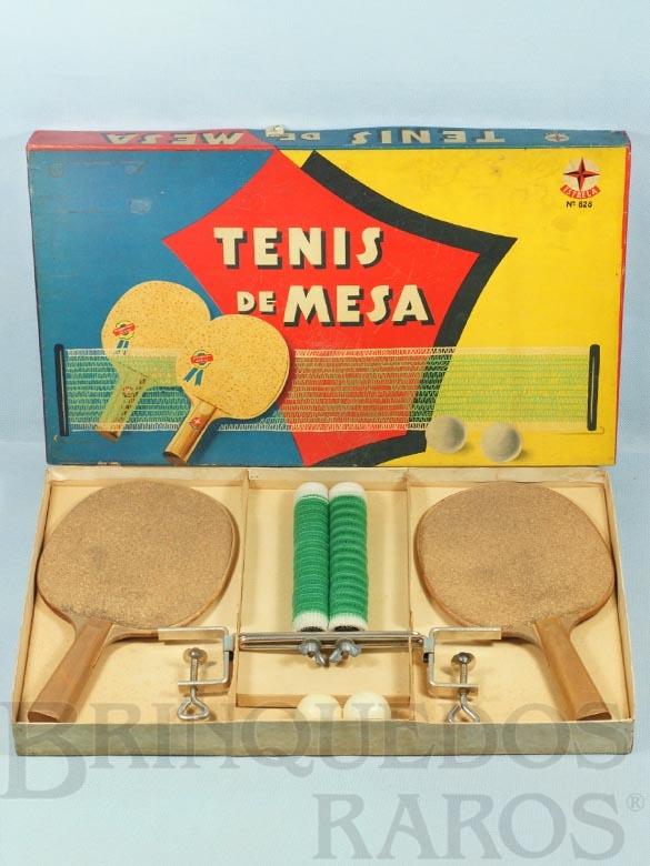 Brinquedo antigo Jogo Tenis de Mesa Ano 1962