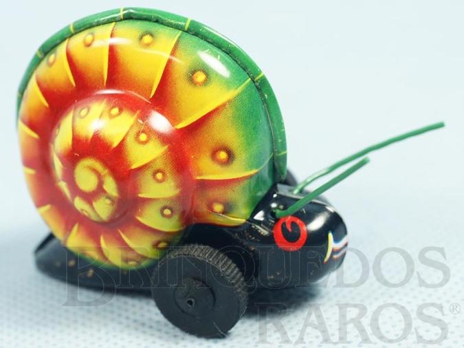 Brinquedo antigo Caramujo Noli com 6,00 cm de altura Década de 1960
