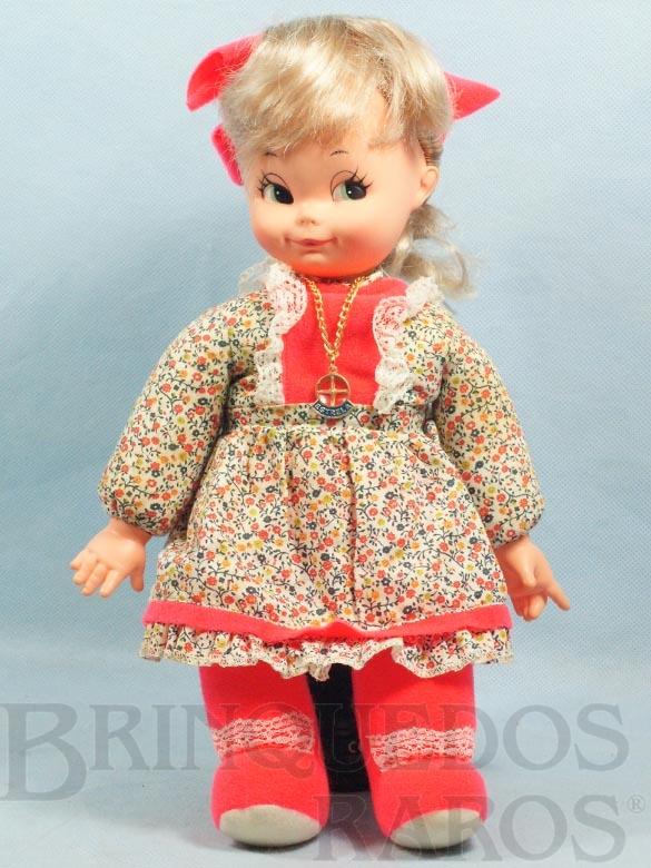 Brinquedo antigo Pepa a Boneca da Pepita Rodrigues com 38,00 Cm de altura Ano 1979