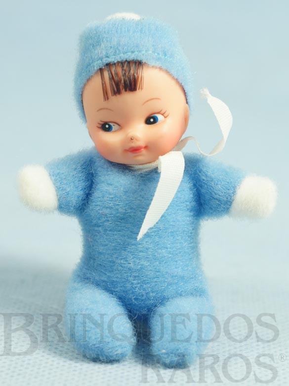 Brinquedo antigo Boneca Miudinha mesmo tamanho da Fofolete 8,00 Cm de altura Olhos pintados Década de 1980