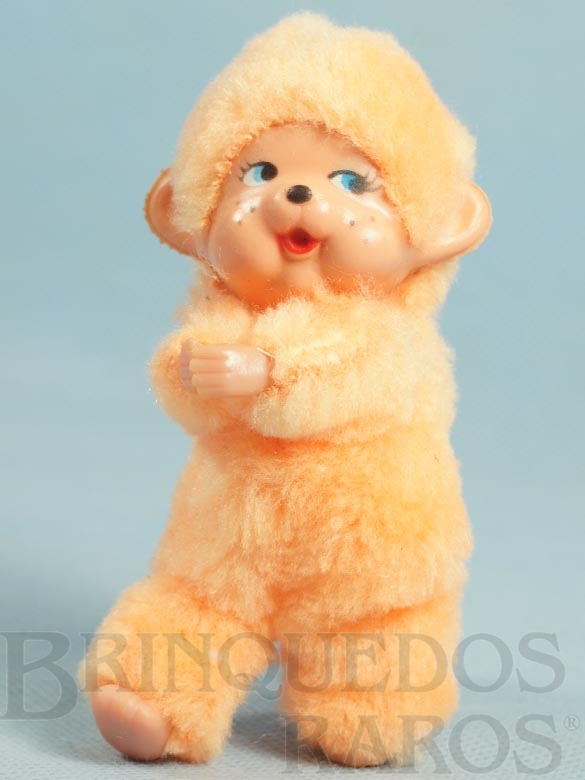 Brinquedo antigo Boneco Agarradinho com 12,00 Cm de altura Década de 1980