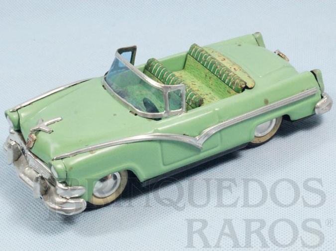 Brinquedo antigo Ford Victoria 1955 Conversível com 19,00 cm de comprimento Década de 1950