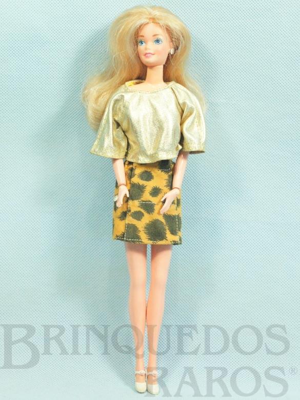 Brinquedo antigo Boneca Barbie Pulsos móveis Ano 1987