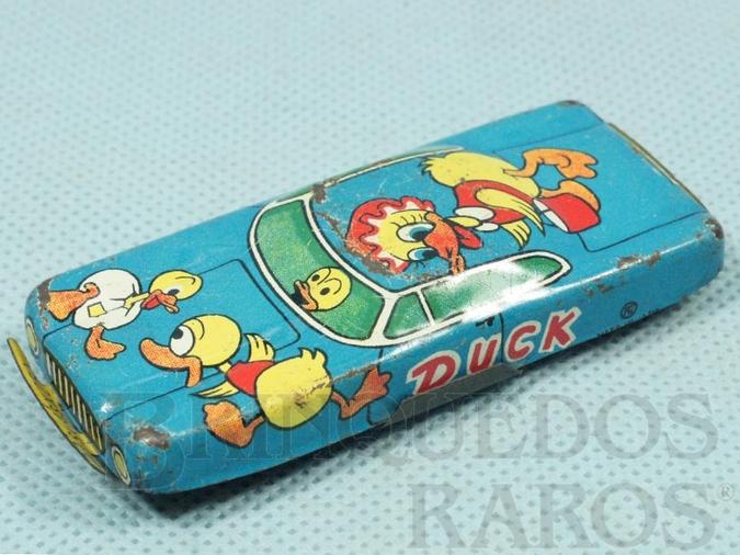 Brinquedo antigo Carro Duck com 8,00 cm de comprimento Década de 1970