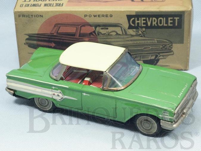 Brinquedo antigo Chevrolet Impala 1959 com 19,00 cm de comprimento Década de 1960