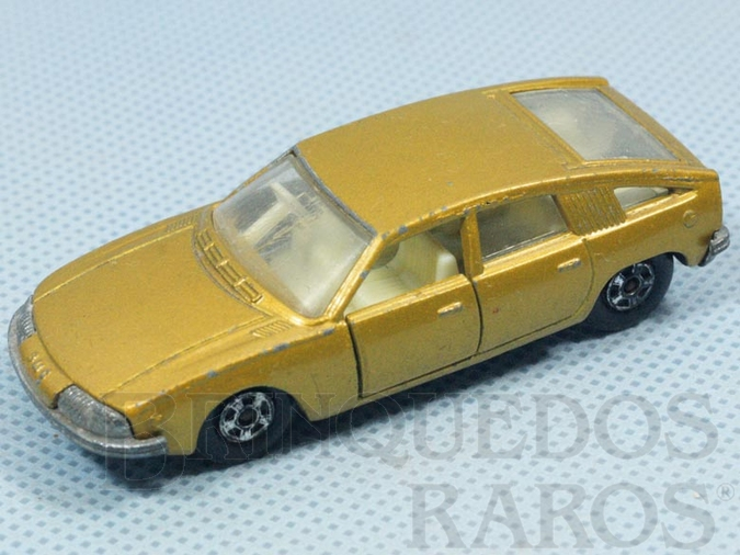 Brinquedo antigo BMC 1800 Pininfarina Superfast Transitional Weels dourada