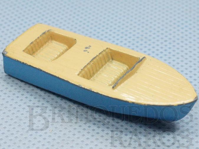 Brinquedo antigo Lancha Meteor Boat com 6,00 cm de comprimento