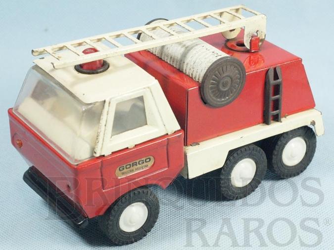 Brinquedo antigo Caminhão Escada com 18,00 cm de comprimento Década de 1970
