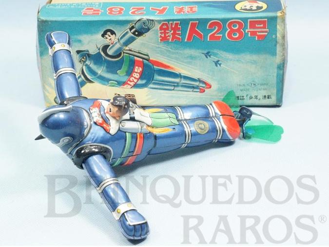 Brinquedo antigo Astro Boy com Robot Astroboy and Gigantor Robot Tesujin Década de 1950