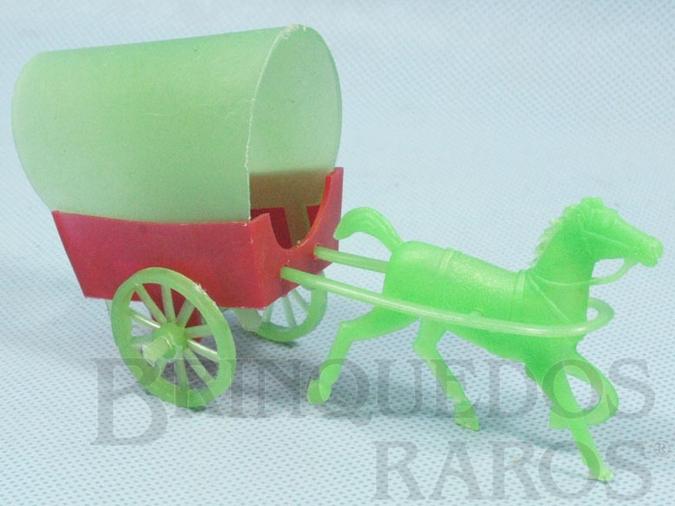Brinquedo antigo Carroça com 12,00 cm de comprimento Década de 1970