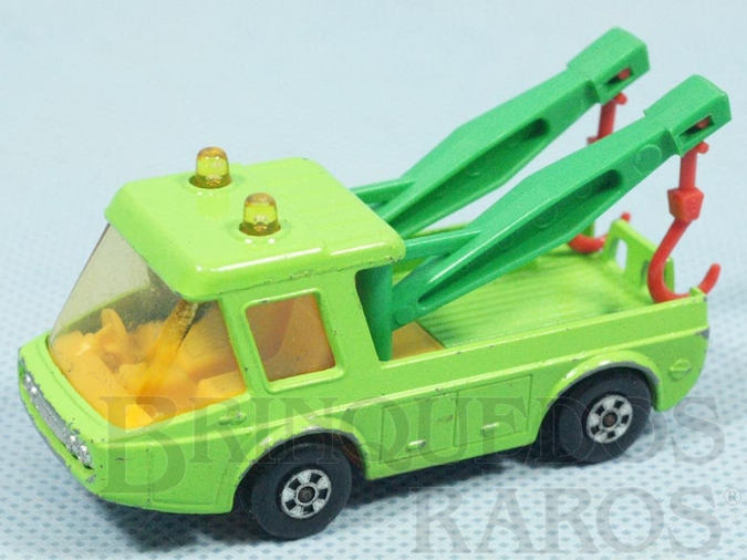 Brinquedo antigo Toe Joe Superfast verde claro Brazilian Matchbox Inbrima Década de 1970