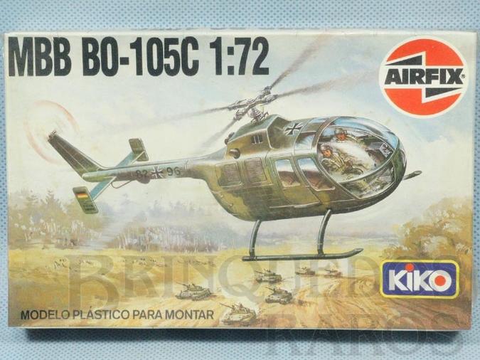 Brinquedo antigo Helicóptero MBB BO-105C Caixa Lacrada Década de 1970