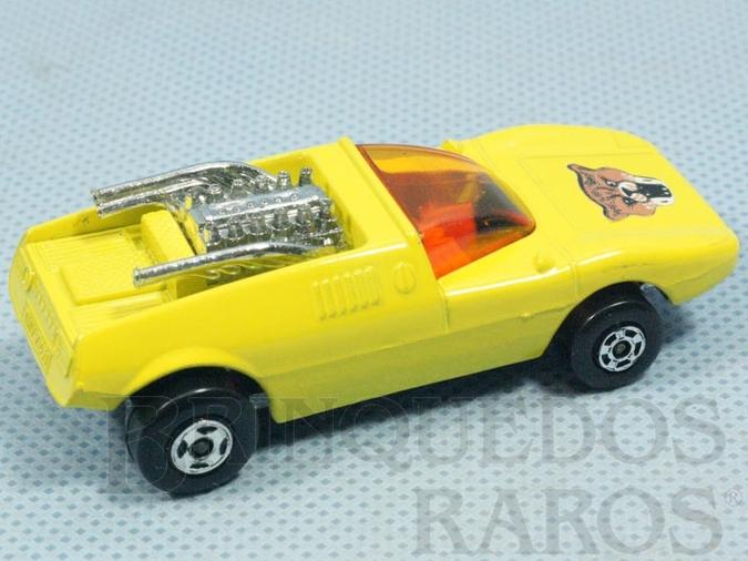 Brinquedo antigo Mod Rod Superfast rodas pretas
