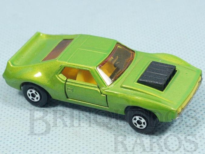 Brinquedo antigo AMX Javelin Superfast verde metálico