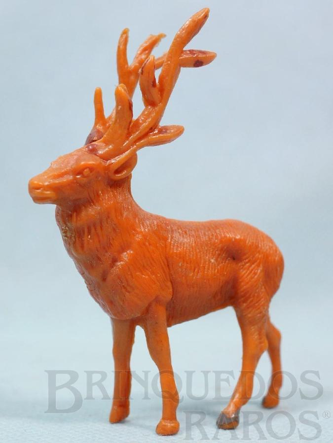 Brinquedo antigo Alce Série Zoológico Década de 1960