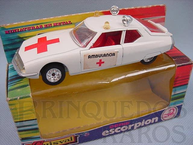 Brinquedo antigo Ambulância Citroen SM Década de 1970