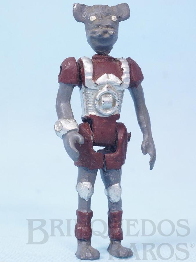 Brinquedo antigo Animalóide Kornis Série Novas Aventuras na Galáxia Guerra nas Estrelas Star Wars Ano 1983