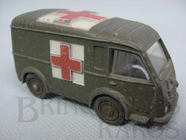 Brinquedo antigo Army Ambulance Ambulance Militaire