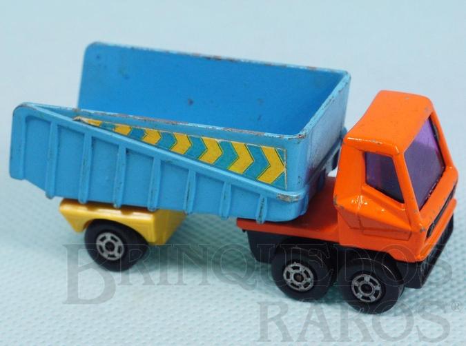 Brinquedo antigo Articulated Truck Superfast cabine laranja