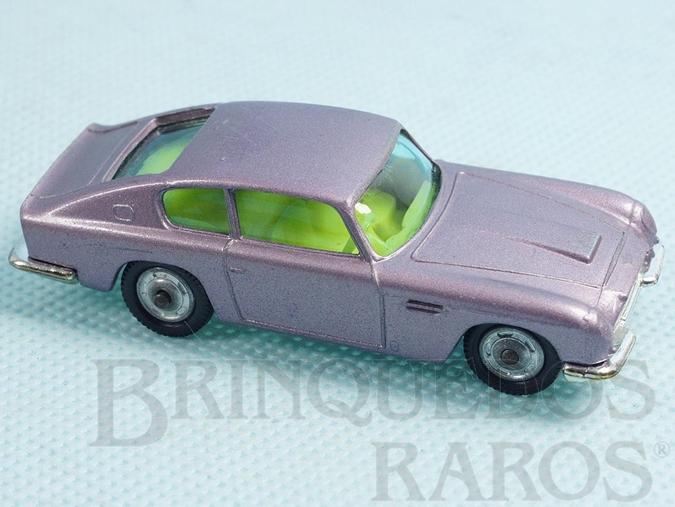 Brinquedo antigo Aston Martin DB6 Husky Década de 1960