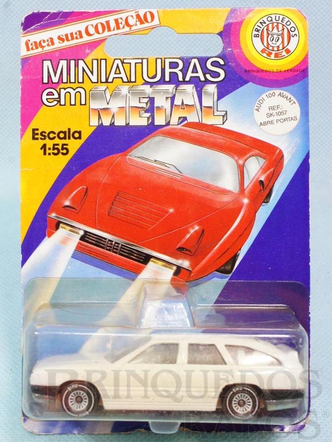 Brinquedo antigo Audi 100 Avant Brasilianische Siku Blister Lacrado Alfema
