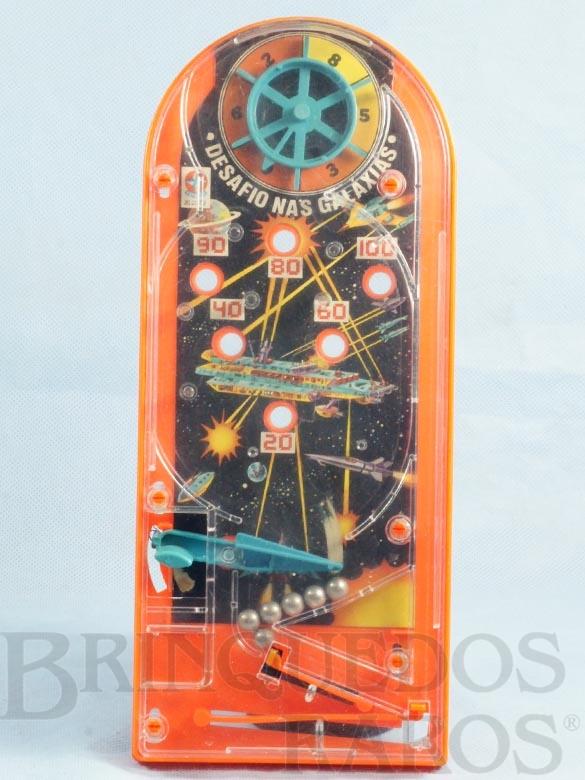 Brinquedo antigo Bagatela Desafio nas Galaxias com 29,00 cm de altura Ano 1982