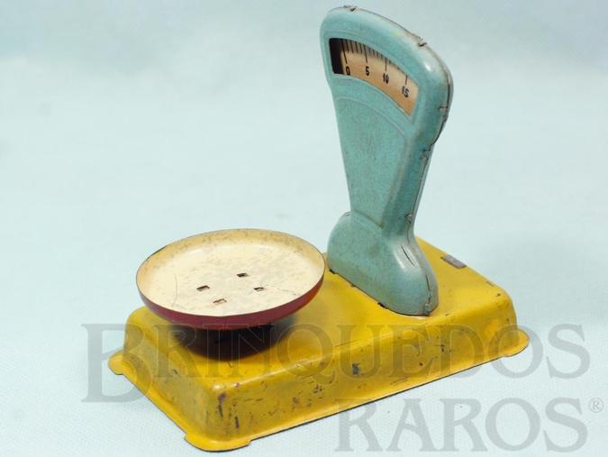 Brinquedo antigo Balança de Armazém com 12,00 cm de comprimento Funcionamento real Ano 1937
