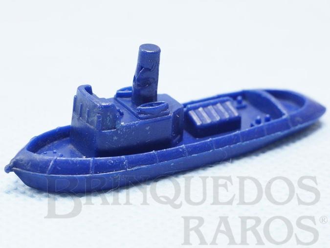Brinquedo antigo Barco Rebocador Brinde Sucrilhos Kelloggs Década de 1970