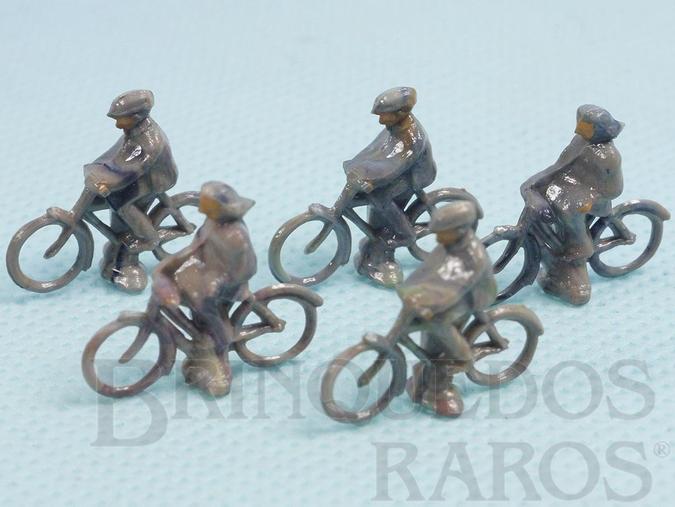 Brinquedo antigo Bicicleta em plástico marmorizado Década de 1950 Preço por unidade