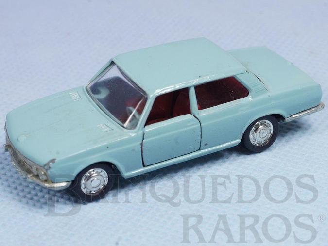 Brinquedo antigo BMW 2800 azul Schuco Modell Brasilianische Schuco Rei