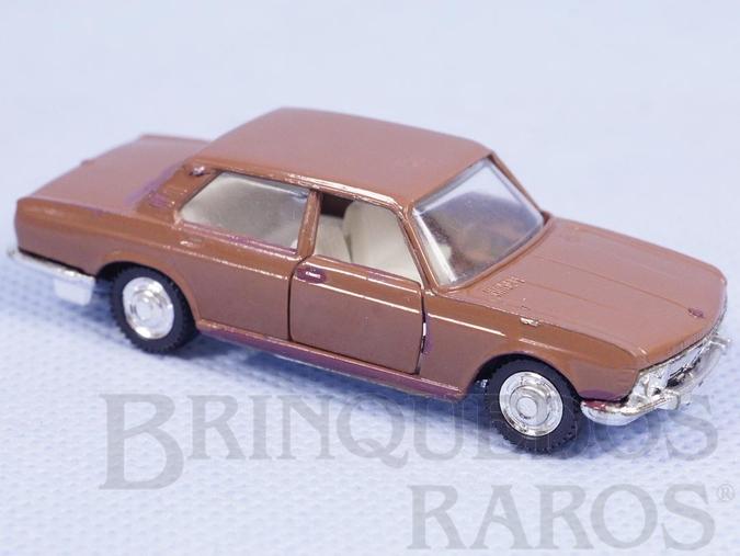 Brinquedo antigo BMW 2800 marrom Schuco Modell Brasilianische Schuco Rei