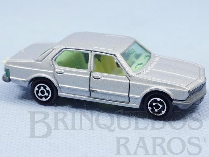 Brinquedo antigo BMW 733 Majorette Brésilien Kiko Década de 1980