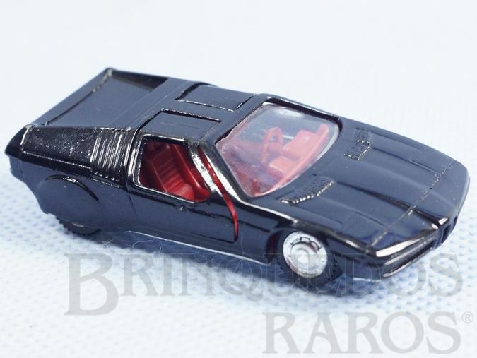 Brinquedo antigo BMW Turbo preto Brasilianische Schuco Rei